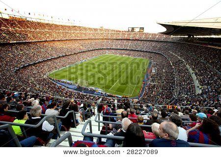 Barcellona - 8 maggio: Stadio FC Barcelona, Camp Nou, durante il match tra FC Barcelona e il RCD Esp