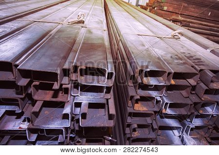 Stock Types Of Steel Are New To Work Construction And Building Systems.