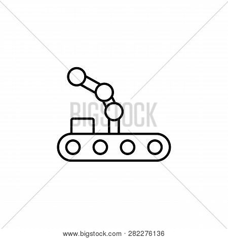 Robot, Crane Outline Vector & Photo (Free Trial) | Bigstock