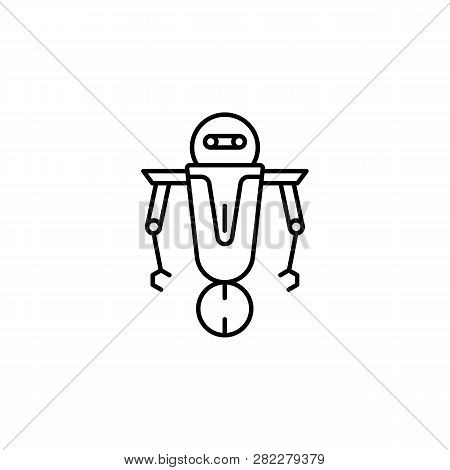 Robot, Scout Outline Vector & Photo (Free Trial) | Bigstock