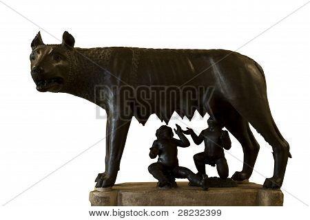 romulus and remus rome symbol