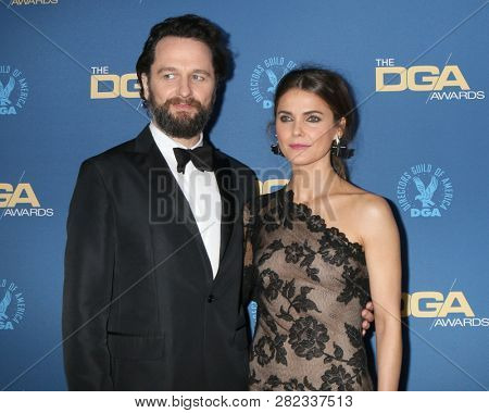 LOS ANGELES - FEB 2:  Matthew Rhys, Keri Russell at the 2019 Directors Guild of America Awards at the Dolby Ballroom on February 2, 2019 in Los Angeles, CA