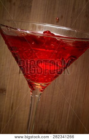 Cosmopolitan Cocktail Close Up