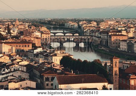 Florence skyline viewed from Piazzale Michelangelo