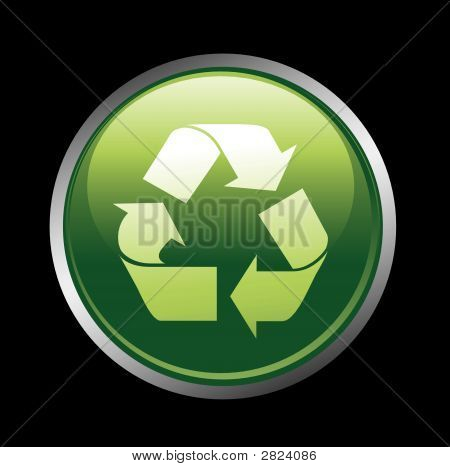 Recycle Button Icon