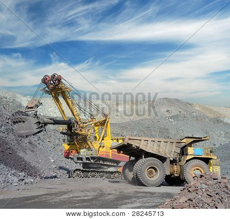 Loading Of Iron Ore