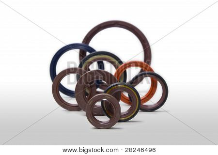 various rubber seals
