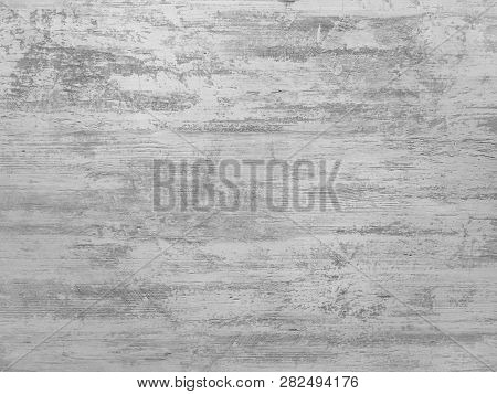 Washed Wooden Texture Background, Light Soft Oak Of Weathered Distressed Wash Wood With Faded Varnis