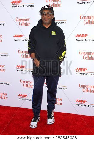 LOS ANGELES - FEB 04:  Spike Lee arrives for AARP's Movies For Grownups Awards 2019 on February 4, 2019 in Beverly Hills, CA