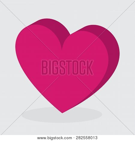 Heart  Icon Vector,red Heart, Vector Icon Heart Icon Vector / Heart Icon /heart - Vector Icon ,esp10