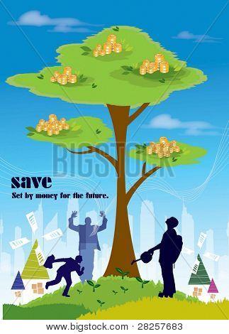 Advertisement for Saving Money