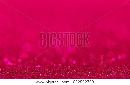 Bright Beautiful Pink Background For Advertising And Decoration Of The Celebration