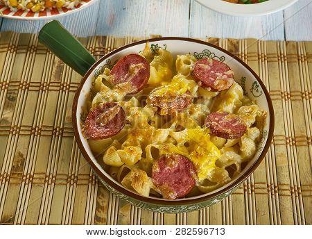 Meat Lovers Pizza Casserole