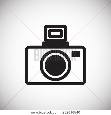 Dslr Icon On White Background For Graphic And Web Design, Modern Simple Vector Sign. Internet Concep