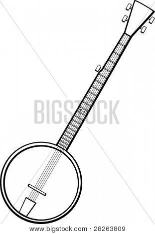 banjo musical instrument