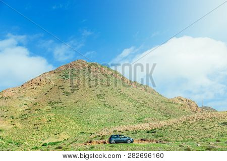 Rent Car Drives In Natural Park Cabo De Gato, Andalusia, Spain