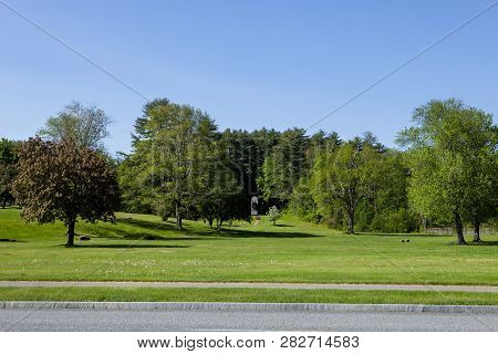 Battlefield State Park Is A Preserved Historic Site In Lake George New York