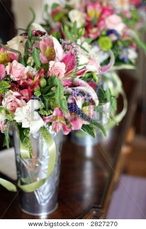 Bouquets In A Row