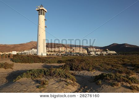 Lighthouse In Morro Jable, Fuerteventura