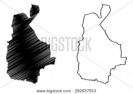 Sistan And Baluchestan Province (provinces Of Iran, Islamic Republic Of Iran, Persia) Map Vector Ill