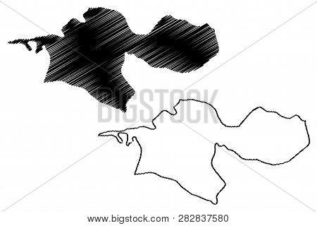 Tehran Province (provinces Of Iran, Islamic Republic Of Iran, Persia) Map Vector Illustration, Scrib