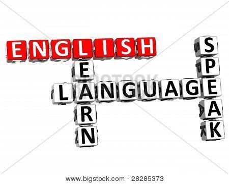 3D Language Crossword
