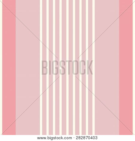 Contemporary Multiwidth Shirting Stripes. Seamless Vertical Vector Pattern. Perfect For Stationery,