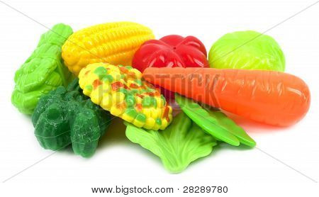 Plastic vegetables