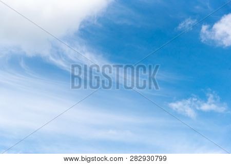 Altostratus Cloud Is A Smooth And Silky Cloud Formation During Fair Weather