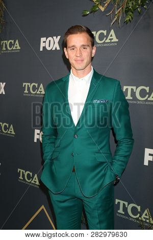 LOS ANGELES - FEB 1:  Stuart Holden at the FOX TCA All-Star Party at the Fig House on February 1, 2019 in Los Angeles, CA