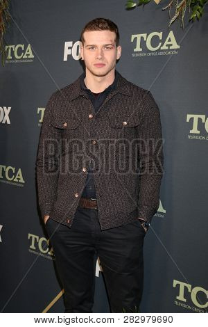 LOS ANGELES - FEB 1:  Oliver Stark at the FOX TCA All-Star Party at the Fig House on February 1, 2019 in Los Angeles, CA
