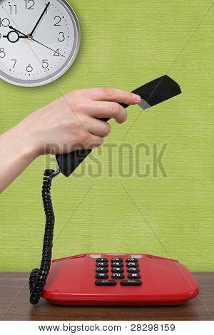 Telefonema numa manhã