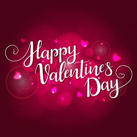 Festive Background For Valentines Day. Illustration In Vector. You Can Use For Greeting Cards, Poste