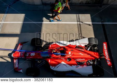 August 21, 2020 - Indianapolis, Indiana, USA: MARCUS ERICSSON (8) of Kumla, Sweden  prepares to practice for the Indianapolis 500 at the Indianapolis Motor Speedway in Indianapolis, Indiana.
