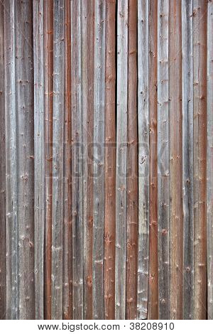 Old Plank Barn Wall
