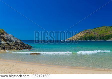 Nai Harn Beach in Phuket Thailand landscape