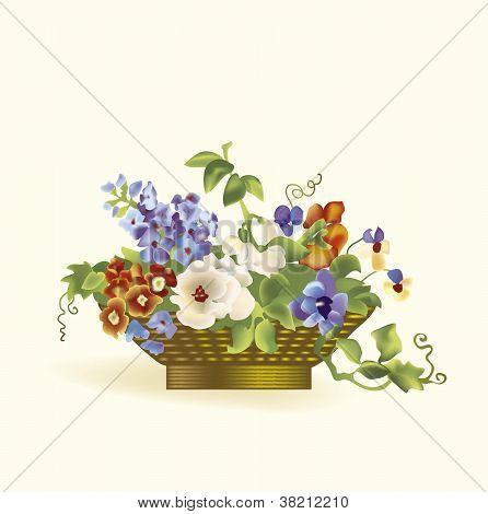 Vector bouquet