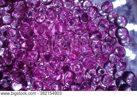 Violet Glass Balls Texture
