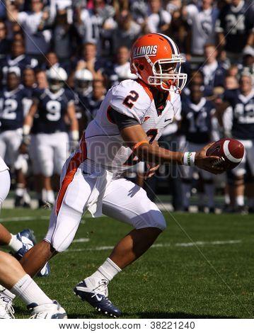 Illinois quarterback No. 2, Nathan Scheelhaase