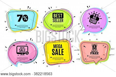 Mega Sale. Big Buys, Online Shopping. Special Offer Price Sign. Advertising Discounts Symbol. Quotat