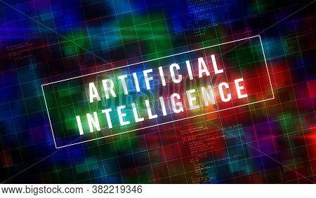 Artificial Intelligence, Digital Machine Learning, Ai, Industry 4.0 And Cybernetic Brain Futuristic
