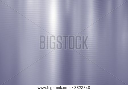 Silver Blue Shiny Brushed Steel. Texture or background. poster