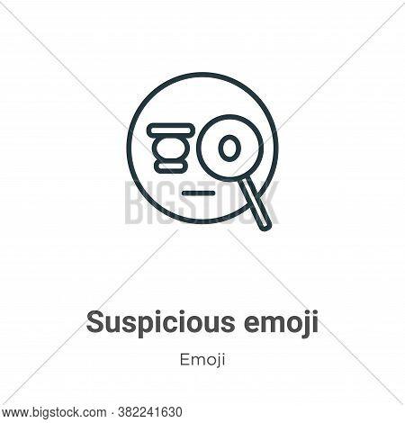 emoji icon isolated on white background from emoji collection. emoji icon trendy and modern emoji sy