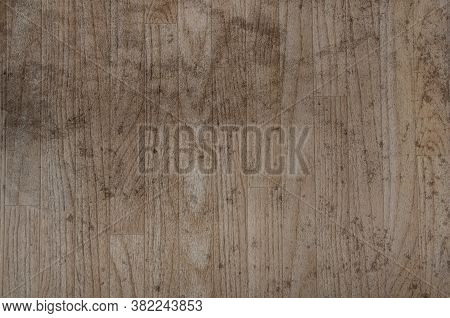 Distressed Wood Floor For Backgrounds And Texture Design Element.