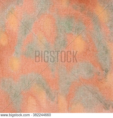 Warm Colors Abstract Watercolor Background Hand Painted In The 12x12 Design Element For Backdrops An