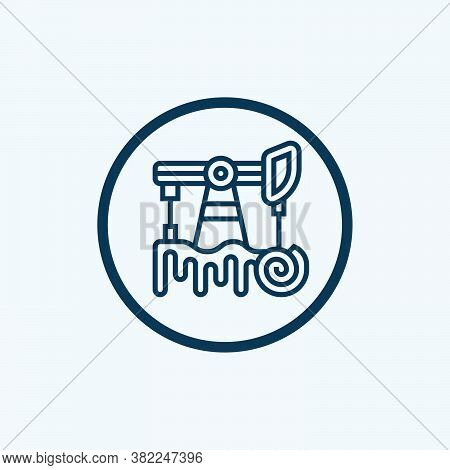 Fossil Fuels Icon Isolated On White Background. Fossil Fuels Icon Simple Sign. Fossil Fuels Icon Tre
