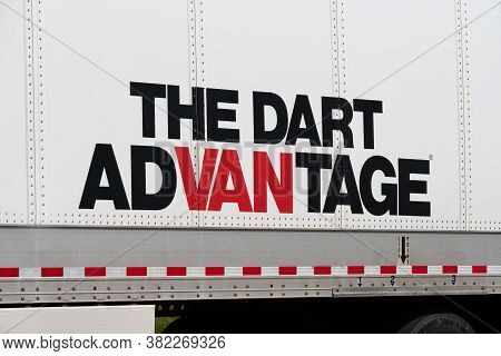 Dart Transit Company Trailer And Corporate Logo