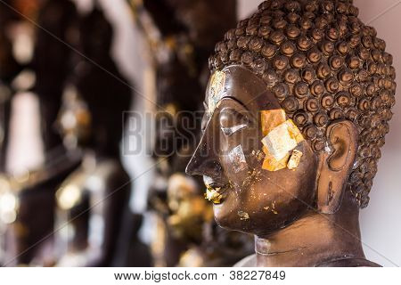 Buddha Head In Wat Doikum 2