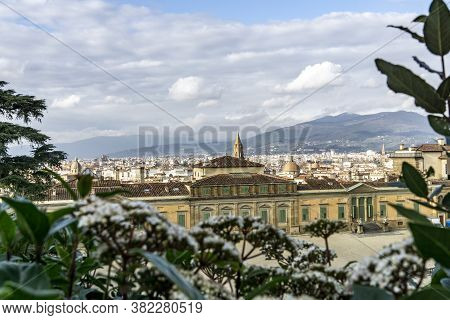 The Palazzo Pitti And A Beatuiful Sight Over Florence