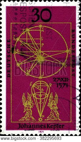 02 11 2020 Divnoe Stavropol Territory Russia The Postage Stamp Germany 1971 The 400th Anniversary Of